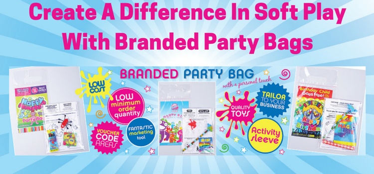 create a difference in soft play with branded party bags