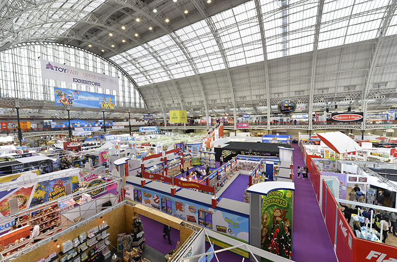 'Boys and their Toys' but Adults love a Toy Fair!