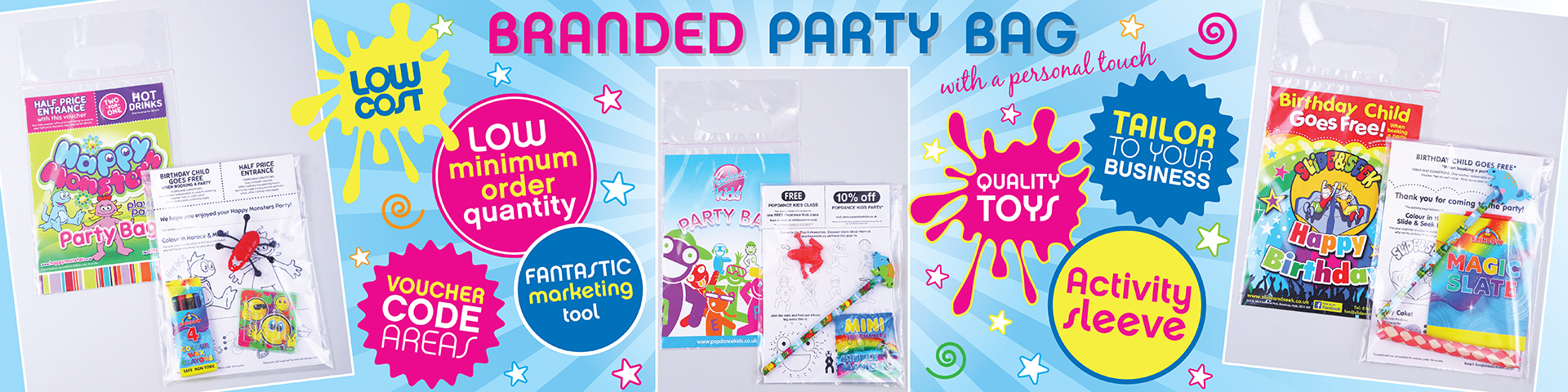 Branded Party Bags